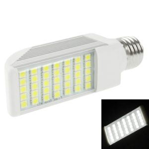 E27 8W 720LM LED Transverse Light Bulb, 35 LED SMD 5050, White Light, AC 85V-265V