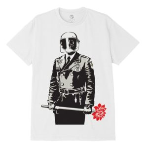 Ανδρικό T-Shirt Obey Sadistic Florist Sustainable White