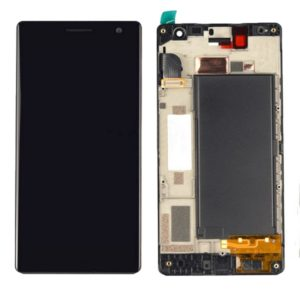 LCD Screen and Digitizer Full Assembly with Frame for Nokia Lumia 730