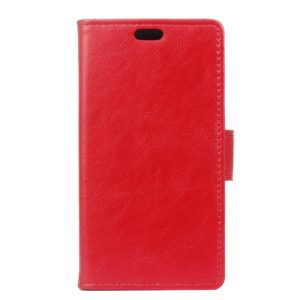 OEM Θήκη Samsung Galaxy J7 2017 Leather Wallet Case- Red