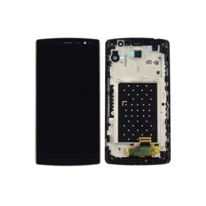LCD Screen and Digitizer Full Assembly with Frame for LG G4 Beat / G4 Mini(Black)