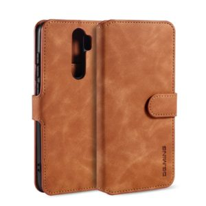 DG.MING Θήκη Xiaomi Redmi Note 8 Pro DG.MING Retro Style Wallet Leather Case-Brown