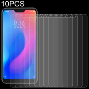 10 PCS 0.26mm 9H Surface Hardness 2.5D Curved Edge Tempered Glass Film for Xiaomi Redmi Note 6 Pro / Note 6