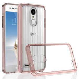 Scratchproof TPU + Acrylic Protective Case for LG K8 (2018) (Pink)