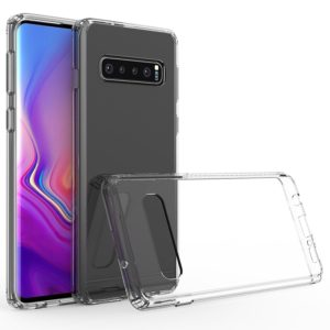 Scratchproof TPU + Acrylic Protective Case for Galaxy S10 (Transparent)