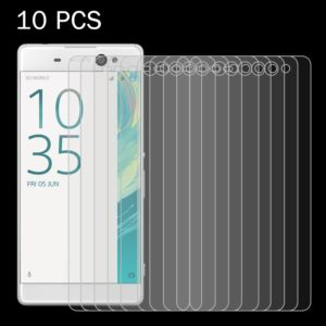 10 PCS for Sony Xperia XA Ultra 0.26mm 9H Surface Hardness 2.5D Explosion-proof Tempered Glass Screen Film