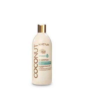 Kativa Coconut Shampoo Reconstrucion & Shine With Organic Oil 500ml