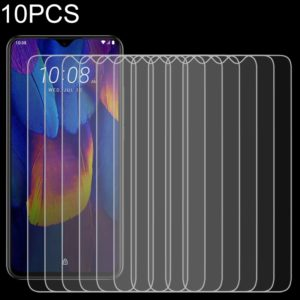 10 PCS 9H 2.5D Non-Full Screen Tempered Glass Film For HTC WILDFIRE X