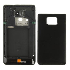 Original Full Housing Battery Back Cover Set for Galaxy S II / i9100(Black)
