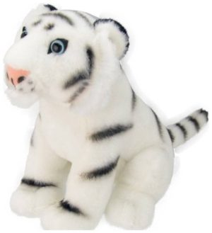 All About Nature Λούτρινο Κουκλάκι White Tiger 20cm K8230