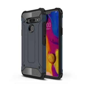 Magic Armor TPU + PC Combination Case for LG G8 ThinQ(Navy Blue)