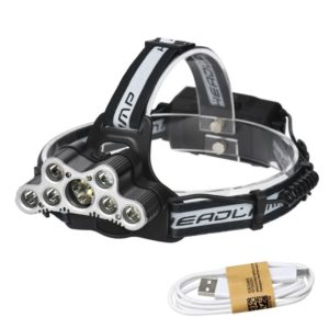 YWXLight 9LEDs USB Rechargeable 6 Modes Lighting LED Waterproof Headlights (YWXLight)