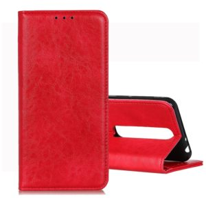 For Vodafone Smart N10 Magnetic Retro Crazy Horse Texture Horizontal Flip Leather Case with Holder & Card Slots & Wallet(Red)