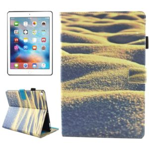 For iPad Pro 10.5 inch Desert Pattern Horizontal Flip Leather Protective Case with Holder & Card Slots & Wallet & Pen Slot &Sleep / Wake-up