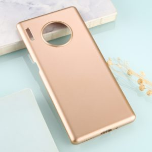 For Huawei Mate 30 Pro Solid Color Plastic Protective Case(Gold)