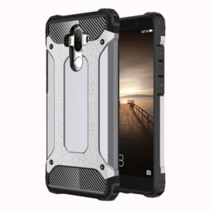 For Huawei Mate 9 Rugged Armor TPU + PC Combination Case(Grey)