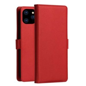 DZGOGO MILO Series PC + PU Horizontal Flip Leather Case for iPhone 11, with Holder & Card Slot & Wallet (Red) (DZGOGO)