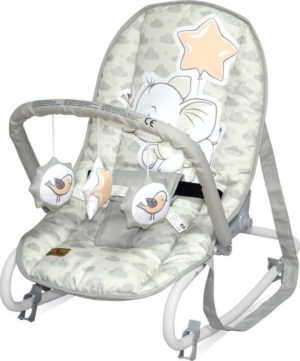 Ρηλάξ Μωρού Bertoni Top Relax - Light Grey Elephants (10110022048)