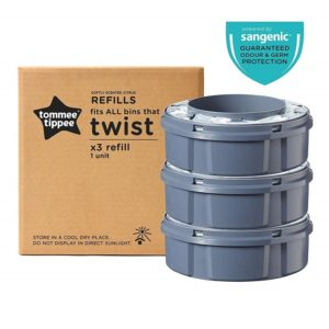 Tommee Tippee Twist and Click Ανταλλακτικές Κασσέτες για Κάδο 3 τεμάχια (510099)