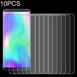 10 PCS 9H 2.5D Non-Full Screen Tempered Glass Film For Cubot X19