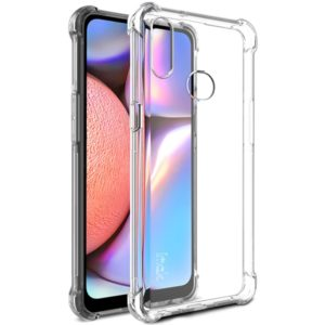For Galaxy A10s IMAK All-inclusive Shockproof Airbag TPU Case(Transparent) (imak)
