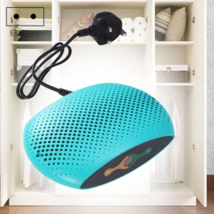 INVITOP Portable Household Wardrobe Piano Moisture-proof Dehumidifier Air Moisturizing Dryer Moisture Absorber, EU Plug (Green)