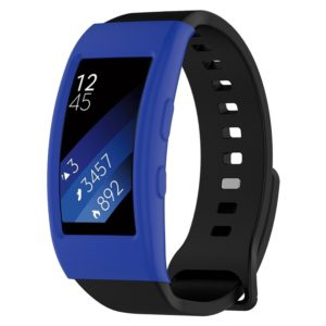 Intelligent Wearable Device, Galaxy Gear Fit2 / Fit2 Pro R360 Watch Protective Case(Dark Blue)