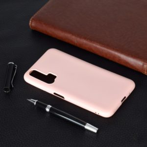 For Huawei Honor 20 Pro Candy Color TPU Case(Pink)