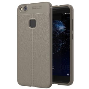 For Huawei P10 Lite Litchi Texture TPU Protective Back Cover Case (Grey)
