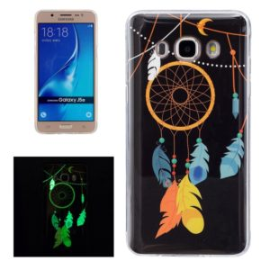 For Galaxy J5 (2016) / J510 Noctilucent Wind Chimes Pattern IMD Workmanship Soft TPU Back Cover Case
