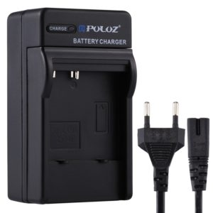 PULUZ EU Plug Battery Charger with Cable for CASIO CNP40 Battery (PULUZ)