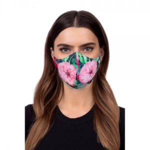 PROFILED FACE MASK FLOWER LOTOS COLOR