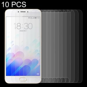 10 PCS Meizu M3 Note / Meilan Note 3 0.26mm 9H Surface Hardness 2.5D Explosion-proof Tempered Glass Screen Film