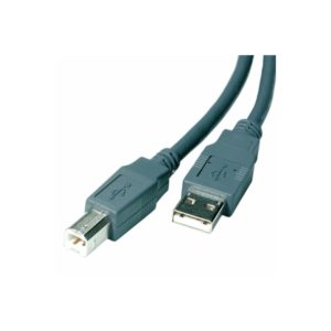 VIVANCO BULK TYPE A TO TYPE B USB CABLE 5m grey