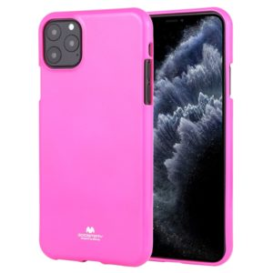 For iPhone 11 Pro MERCURY GOOSPERY JELLY TPU Fluorescence Shockproof and Scratch Case(Pink) (GOOSPERY)