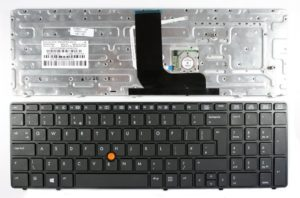 Πληκτρολόγιο Laptop HP EliteBook 8560w 8570W 8570 With Pointer HP 55010S400-035-G 9z.n6gpf.a0l BM22T00P55011SP00-035-G 690647-001 703149-001 55011ST00-035-G 652682-001 690647-161 UK Keyboard(Κωδ.40159UK)