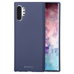 GOOSPERY SF JELLY TPU Shockproof and Scratch Case for Galaxy Note 10+(Navy Blue) (GOOSPERY)