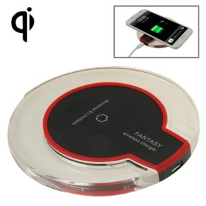 FANTASY Wireless Charger, For iPhone 8 / 8 Plus / X & All QI Standard Compatible Devices Galaxy S5 / S4 / Note 4 / 3, etc(Black)