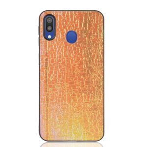 Magic Color PU + TPU Protective Case for Galaxy A40 (Gold)