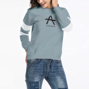 Hooded Long Sleeve Casual Loose Sweatshirt (Color:Green Size:L)
