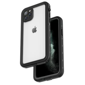 Redpepper Θήκη αδιάβροχη iPhone 11Pro Max 6.5 Waterproof Covering Clear Back case Redpepper-Black