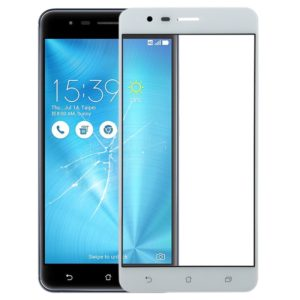 Front Screen Outer Glass Lens for Asus Zenfone 3 Zoom ZE553KL / Z01HD (White)