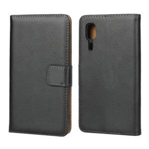 Horizontal Flip Leather Case for Galaxy A2 Core, with Magnetic Buckle & Holder & Card Slots & Wallet(Black)