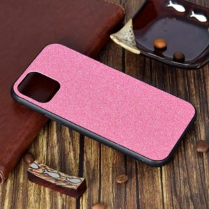 For iPhone 11 Shockproof Glitter Powder Paste Skin TPU Protective Case(Pink)