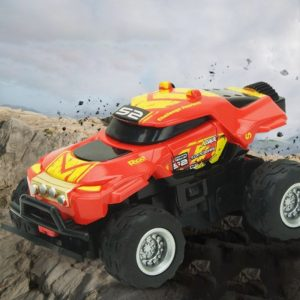 8024 1:58 4CH Mini RC Off-road Car with Remote Control (Random Pattern Delivery)