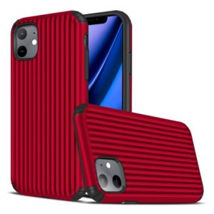 For iPhone 11 Travel Box Shape TPU + PC Protective Case(Red)