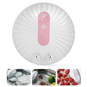 GYB001 Mini-ultrasonic Dishwasher Portable USB Charging Fruit Cleaner, Domestic Packaging(Pink)