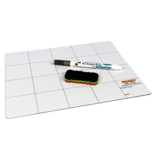JAKEMY JM-Z09 25cm x 20cm Magnetic Project Mat with Marker Pen for iPhone / Samsung Repairing Tools (JAKEMY)