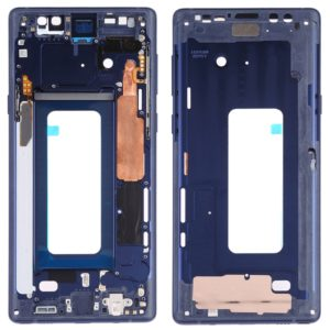 Middle Frame Bezel Plate with Side Keys for Samsung Galaxy Note9 SM-N960F/DS, SM-N960U, SM-N9600/DS (Blue)