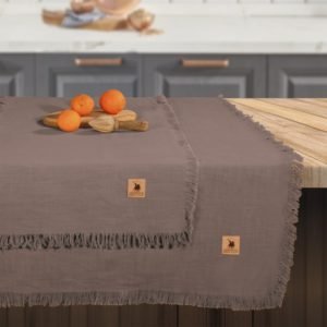 Τραπεζομάντηλο Essential Kitchen Solid Fringes 2657 Cotton Polo Club (140x240) 1Τεμ